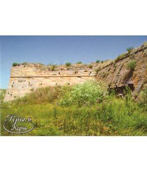 Арабатская крепость. Открытка