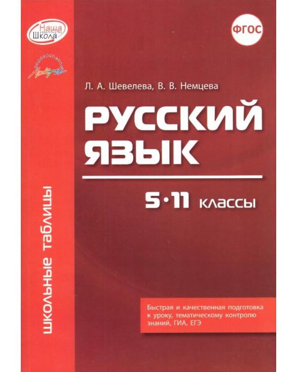 Русский язык. 5 - 11 классы