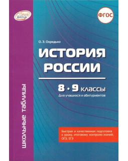 История России. 8 - 9 классы