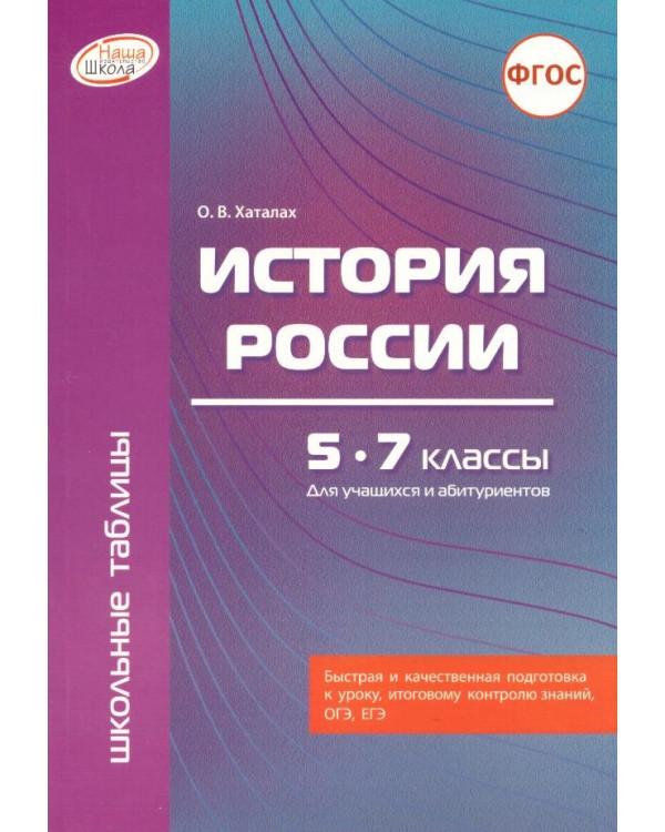История России. 5 - 7 классы