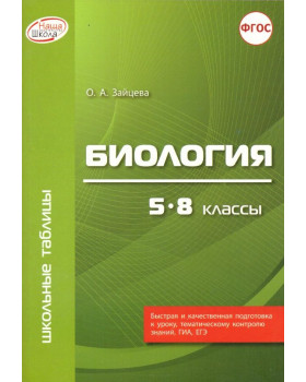 Биология. 5 - 8 классы