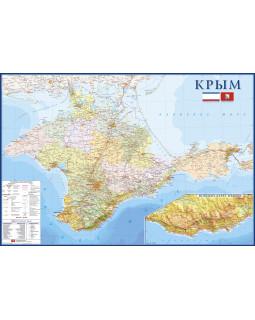 Настенная карта Крым