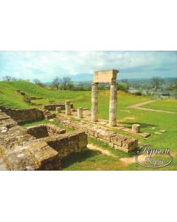 Руины древнего Пантикапея. Открытка