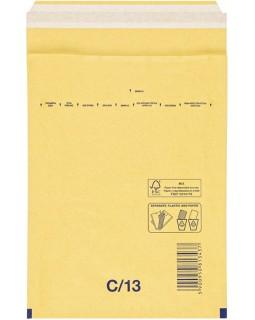 Пакет почтовый Курт и К, 170*225мм, коричневый крафт, пузыр. пленка, отр. лента