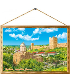 Феодосия. Генуэзская крепость. Картина на холсте