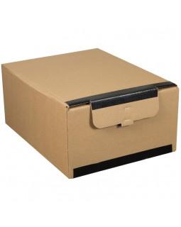 """Короб архивный горизонтальный OfficeSpace """"Standard"""" плотный с клапаном и замком на липучке"""