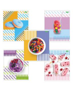 """Тетрадь """"Candy"""", 48 листов, в клетку"""