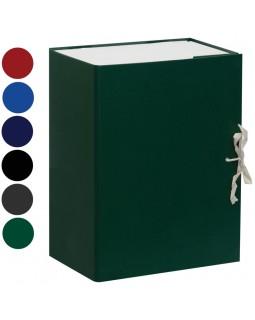 Короб архивный с завязками OfficeSpace разборный, БВ, 150мм,ассорти,клапан микрогофрокартон ,до 1400л