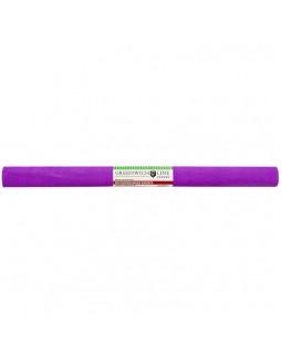 Бумага крепированная Greenwich Line, 50*250см, 32г/м2, ярко-сиреневая, в рулоне