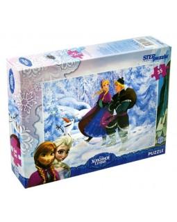 """Мозаика """"puzzle"""" 35 """"Холодное сердце"""" (Disney)"""