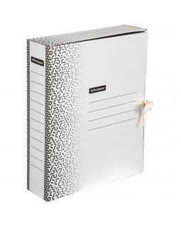 """Папка архивная с завязками OfficeSpace """"Standard"""" плотная, микрогофрокартон, 75мм, белая, 700л."""