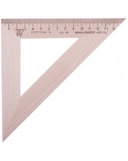 Треугольник 45°, 16см Можга, дерево