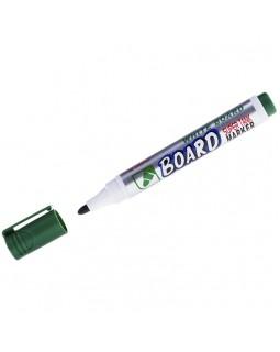 "Маркер для белых досок Crown ""Multi Board"" зеленый, пулевидный, 3мм"
