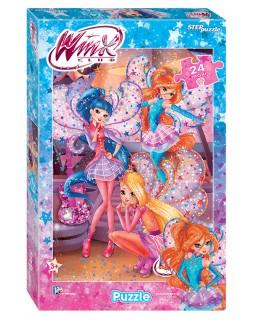 """Мозаика """"puzzle"""" maxi 24 """"Winx"""" (Rainbow)"""