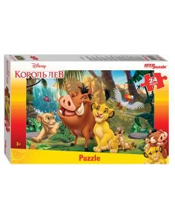 """Мозаика """"puzzle"""" maxi 24 """"Король Лев"""" (Disney)"""