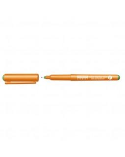 Маркер для прозрачных поверхностей неперманентный Stanger F, 0,6мм, зеленый (710043)
