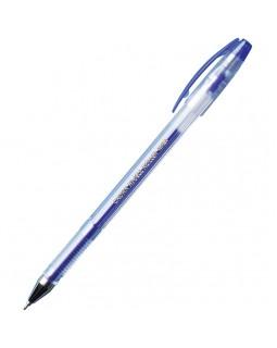 """Ручка гелевая Crown """"Hi-Jell Needle"""" синяя, 0,5мм, игольчатый стержень"""