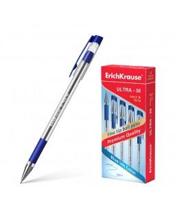 Ручка шариковая ErichKrause ULTRA-30, цвет чернил синий