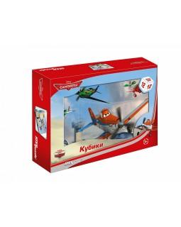 """12 кубиков """"Самолёты"""" (Disney)"""