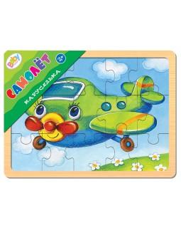 "Игра из дерева ""Каруселька. Самолет"" (Baby Step)"