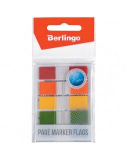 Флажки-закладки Berlingo 45*12мм, 20л*5 неоновых цветов