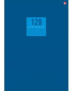 """Тетрадь """"Стиль и цвет. Синий"""", А4, 120 листов, клетка"""