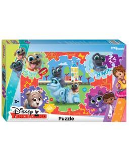 """Мозаика """"puzzle"""" maxi 24 """"Дружные мопсы"""" (DisneyJunior)"""