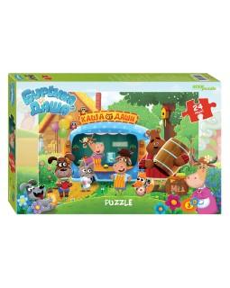 """Мозаика """"puzzle"""" maxi 24 """"Буренка Даша"""" (Riki)"""
