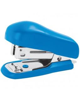 Мини-степлер №24 OfficeSpace до 12л., пластиковый корпус, синий