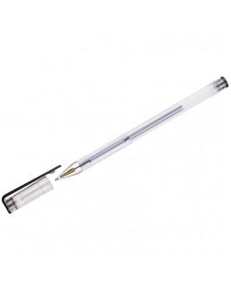 Ручка гелевая OfficeSpace черная, 0,5мм