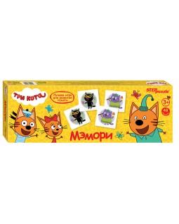 """Мэмори """"Три кота"""" Настольная игра"""