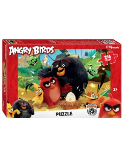 "Мозаика ""puzzle"" maxi 24 ""Angry Birds"" (Rovio)"