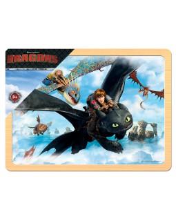 """Игра из дерева """"Драконы"""" (DreamWorks)"""