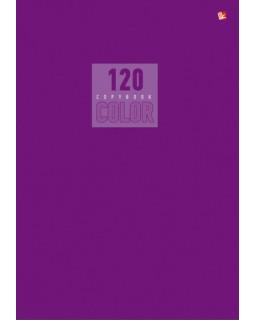 """Тетрадь """"Стиль и цвет. Лиловый"""", А4, 120 листов, клетка"""