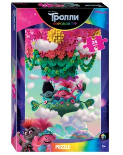 "Мозаика ""puzzle"" maxi 24 ""Trolls - 2"" (DreamWorks)"