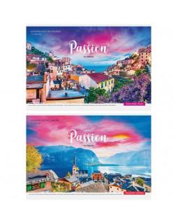 """Альбом для рисования 12л., А4, на скрепке ArtSpace """"Путешествия. Passion to travel"""""""