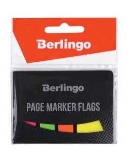 Флажки-закладки Berlingo 45*25мм, 20л+45*12, 20л*3 неоновых цвета