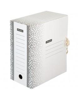 """Папка архивная с завязками OfficeSpace """"Standard"""" плотная, микрогофрокартон, 150мм, белый, 1400л."""