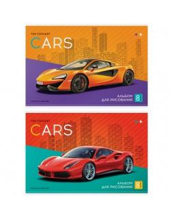 """Альбом для рисования 08л., А4, на скрепке ArtSpace """"Авто. The coolest car"""""""