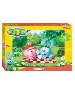 "Мозаика ""puzzle"" 35 MAXI ""Смешарики"" (Мармелад Медиа)"