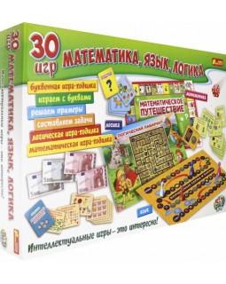 Учебная игра - 30 игр. Математика, речь, логика