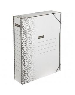 """Папка архивная на резинках OfficeSpace """"Standard"""" плотная, микрогофрокартон, 75мм, белая, 700л."""