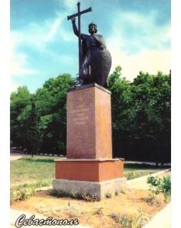 Севастополь. Памятник Великому князю Владимиру. Открытка