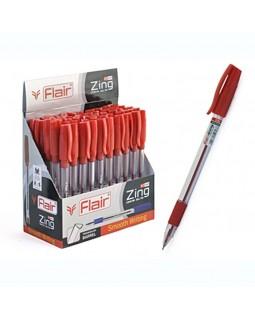 Ручка шариковая FLAIR ZING, красная (F-1151/красн.)