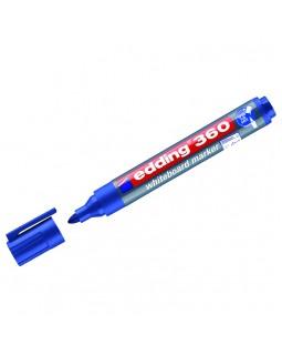 """Маркер для белых досок Edding """"360"""" синий, пулевидный, 1,5-3,0мм"""
