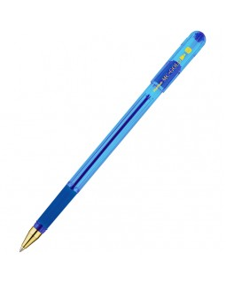 "Ручка шариковая MunHwa ""MC Gold"" синяя, 0,7мм, грип"