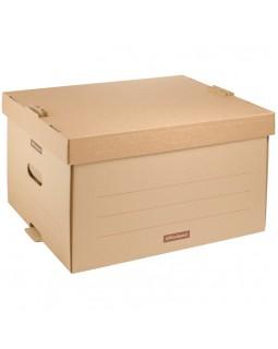 """Короб архивный OfficeSpace """"Универсальный"""" 26,5*34*44см, надстраиваемый, с крышкой, картон"""