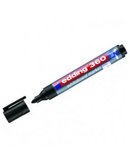 """Маркер для белых досок Edding """"360"""" черный, пулевидный, 1,5-3,0мм"""