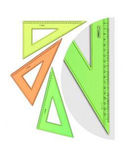 """Треугольник 30°, 23см Стамм """"NEON Cristal"""", ассорти"""