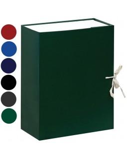 Короб архивный с завязками OfficeSpace разборный, БВ, 120мм, ассорти, клапан картон, до 1000л.